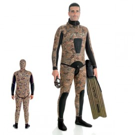 Spetton Brown Gold Camo 7mm dragt