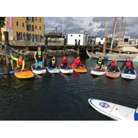 Paddle&Play - SUP: 1 timer introduktion, 1 times leje